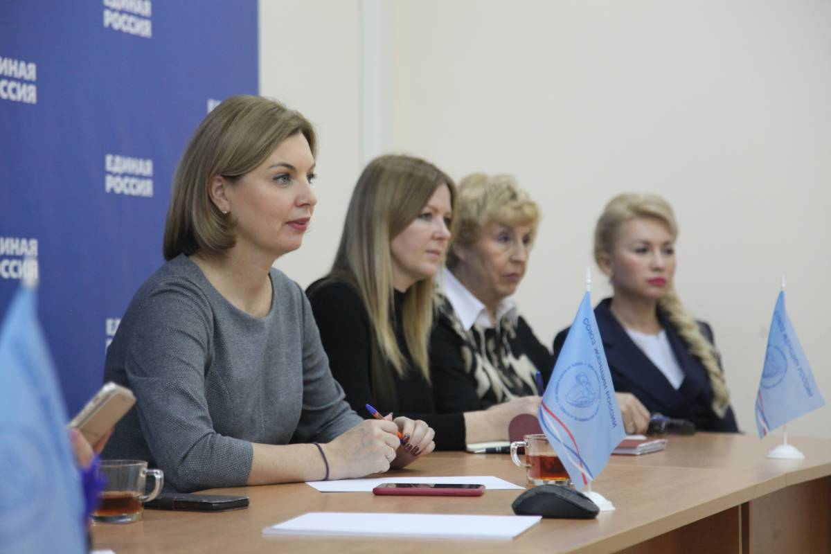 Ольга Хитрова приняла участие в работе дискуссионной площадки «Национальная стратегия действий в интересах женщин»
